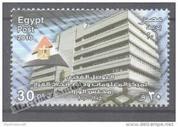 Egypt 2010 Yvert 2074, Council Of Ministers - MNH - Nuovi