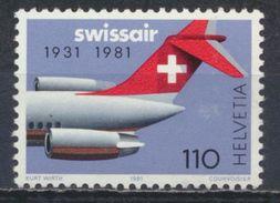 °°° SVIZZERA - Y&T N°1125 - 1981 MNH °°° - Suisse