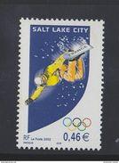 Timbre Neuf 2002 - - JEUX OLYMPIQUES D' HIVER DE SALT LAKE CITY (ETATS-UNIS) - N° YT : 3460 - France