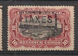 CONGO TX 32 T15 No Gum - Portomarken: Ungebraucht