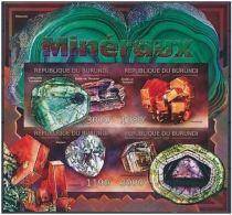 Burundi Minerals Minéraux  Imperf - Minéraux