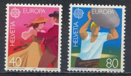 °°° SVIZZERA - Y&T N°1126/27 - 1981 MNH °°° - Schweiz