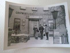 AD012.04  Old Photo  Hotel Gastwirtschaft Zum Semmering -Austria -  Restaurant  Coca Cola - Ca 1950's - Lugares