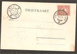 Grootrond Arnhem-Breda II. Anzicht S'Hertogenbosch - Poststempel