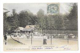 LE MONT DORE  (cpa 63)  Le Salon Du Capucin - Partie De Tennis  -  - L 1 - Le Mont Dore
