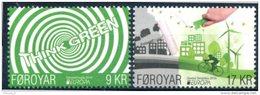 """Europa 2016 """"Think Green"""" - Féroés Foroyar ** - Europa-CEPT"""