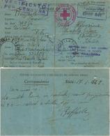 CAMPO PRIGIONIERI TRANSIT POW CAMP RAS EL TIN EGITTO 1942 MIRABELLA ECLANO - Military Mail (PM)