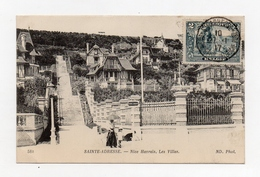 !!! GOUVERNEMENT BELGE EN EXIL : CPA DE SAINTE ADRESSE AVEC TP BELGE ET CACHET DU 27/1/1917 - 1915-1920 Albert I