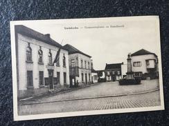 Liedekerke - Gemeenteplaats En Standbeeld - Liedekerke