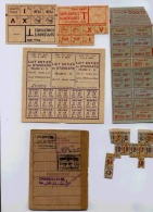 CARTE ET TICKETS D'ALIMENTATION ET DIVERS COMMUNE DE LYON - Vieux Papiers