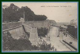 CPA Brest Port Commerce Les Rampes - Brest