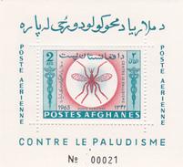 Afghanistan, Scott 674D, 1964 Eradication Of Malaria Souvenir Sheet MNH - Afghanistan