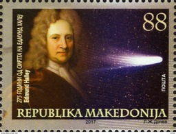 Macedonia / 2017 / ASTRONOMY - The 275th Anniversary Of The Death Of Edmund Halley - Macedonia