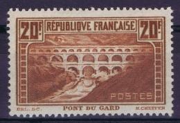 France Yv 262a Chaudron Foncé  Postfrisch/neuf Sans Charniere /MNH/** - France