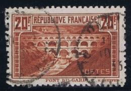 France Yv 262b Dentelé 11 Signed/ Signé/signiert Brun Obl./Gestempelt/used Bel état Pour Un Timbre Rare - France