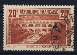 France Yv 262a Obl./Gestempelt/used Bel état Pour Un Timbre Rare - France