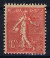 France : Yv 129c  Postfrisch/neuf Sans Charniere /MNH/** - 1903-60 Säerin, Untergrund Schraffiert
