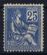 France : Yv 118 Postfrisch/neuf Sans Charniere /MNH/** 1900 Spot In Gum - 1900-02 Mouchon