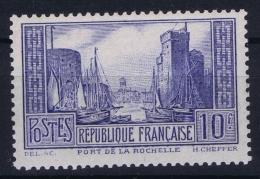 France : Yv  261 B  Postfrisch/neuf Sans Charniere /MNH/**  Outremer Pale - France