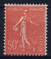 France : Yv  199 K C Fermé 50 C  MH/* Falz/ Charniere - 1903-60 Säerin, Untergrund Schraffiert