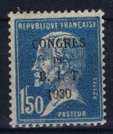 France : Yv  265 A Sans Accent Sur E De Congres  MH/* Falz/ Charniere - France