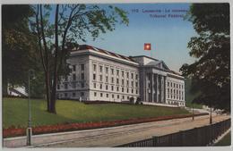 Lausanne - Le Nouveau Tribunal Federal - Photo: G. Jaeger - VD Vaud