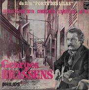 Georges Brassens 45t. EP B.O. FILM *porte Des Lilas* - Soundtracks, Film Music