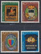 °°° SVIZZERA - Y&T N°1128/31 - 1981 MNH °°° - Suisse
