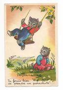 J. Lagarde. Chats. Tu Ferais Bien De Prendre Un Parachute - Illustratoren & Fotografen