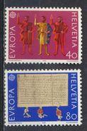 °°° SVIZZERA - Y&T N°1150/51 - 1982 MNH °°° - Schweiz