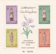 Afghanistan,Yvert BF 29 1962 Women's Day Souvenir Sheet MNH - Afghanistan