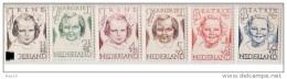 NVPH  454-459 *plakkerrest - 1891-1948 (Wilhelmine)