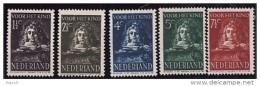 NVPH  397-401 Ongebruikt Met Plakkerrest - 1891-1948 (Wilhelmine)