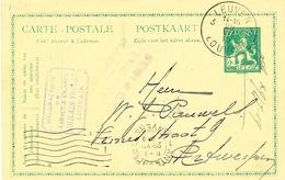 430/25 - Entier Postal Pellens LEUVEN 3 En 1919 - Cachet Manufacture Tabacs Et Cigares Ghilain Frères - Postcards [1909-34]