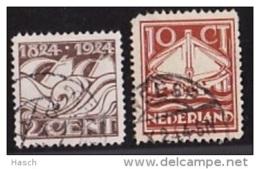 NVPH  139-140  Gestempeld - 1891-1948 (Wilhelmine)