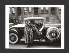 COUPLES - COUPLE IN RACCOON COATS 1932 - 6½ X 4¾ Po - 16½ X 12 Cm - PHOTO JAMES VAN DER ZEE - Couples
