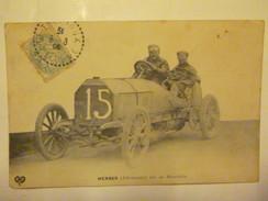LA COUPE GORDON BENNETT 1905 - WERNER ( Allemagne ) Sur Sa Mercédès - France