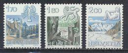 °°° SVIZZERA - Y&T N°1171/73 - 1983 MNH °°° - Suisse