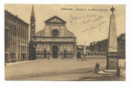 FIRENZE CHIESA DI S.MARIA NOVELLA   VIAGGIATA FP - Firenze