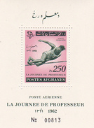 Afghanistan,Yvert BF 32 1962 Teacher's Day Miniature Sheet MNH - Afghanistan
