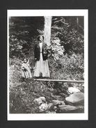 ENFANTS - KATE AND RACHEL - MOTHER AND HER LITTLE GIRL C. 1908 - 6½ X 4¾ Po - 16½ X 12 Cm - PHOTO JAMES VAN DER ZEE - Enfants