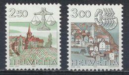 °°° SVIZZERA - Y&T N°1217/18 - 1985 MNH °°° - Suisse