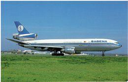 SABENA - Douglas DC-10 - 1946-....: Modern Era