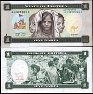 Eritrea. 1 Nakfa (Unc) 1997. Banknote Cat# P.1 [DLC.BN00367] - Eritrea