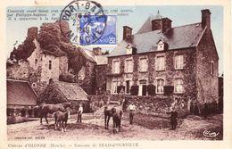CPA  SAINT-LO D'OURVILLE 50 - Château D'Olonde - Autres Communes