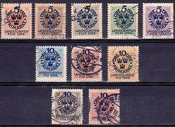 SU 3 - SUEDE 10 Timbres N° 76/85 Oblitérés - Suède