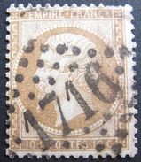 LOT DF/13 - NAPOLEON III N°21b Bistre Brun - GC 1716 GRENOBLE (Isère) - 1871-1875 Cérès