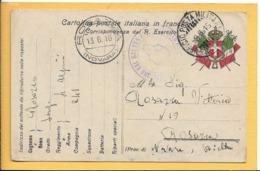 Cartolina Postale In Franchigia - Piccolo Formato - Viaggiata - 1900-44 Victor Emmanuel III