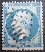LOT DF/14 - NAPOLEON III N°22 - ☛ GC 5005 ALGER (ALGERIE) - 1862 Napoléon III