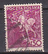 PGL - POLOGNE Yv N°408 - Oblitérés